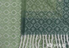 Plaid Havanna groen detail