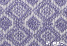 Plaid Havanna lavendel detail