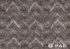 Plaid Himalaya sand detail