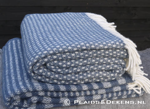 Plaid Knut smokey blue