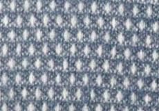 Plaid Knut smokey blue detail
