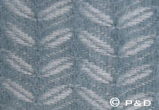Plaid Leaf lead grey detail
