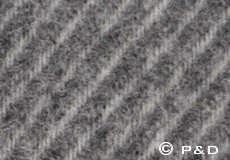 Plaid Linus donkergrijs detail
