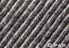 Plaid Linus zwart detail