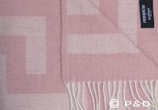 Plaid Memphis misty rose detail