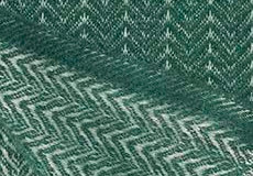 Plaid Pin stripe dark green achterzijde