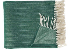 Klippan Pin stripe dark green