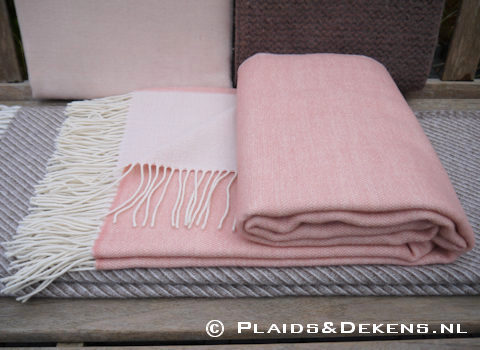 Plaid Porto rose taupe