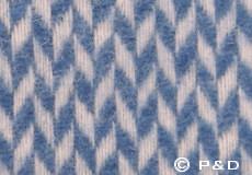 Plaid Pulse China blue detail
