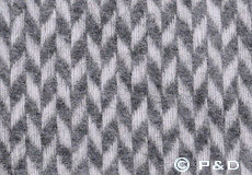 Plaid Pulse grey detail