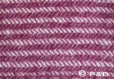 Plaid Ralph aubergine detail