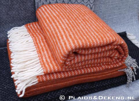 Plaid Ralph oranje