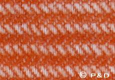 Plaid Ralph oranje detail