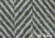 Plaid Romo herringbone groen detail