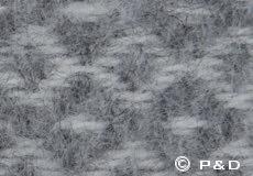 Plaid Rumba grijs detail