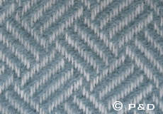 Plaid Samba lead grey detail