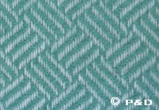 Plaid Samba mint detail