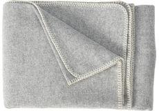 Plaid Soft wool light grey