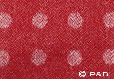 Plaid Spot rood detail