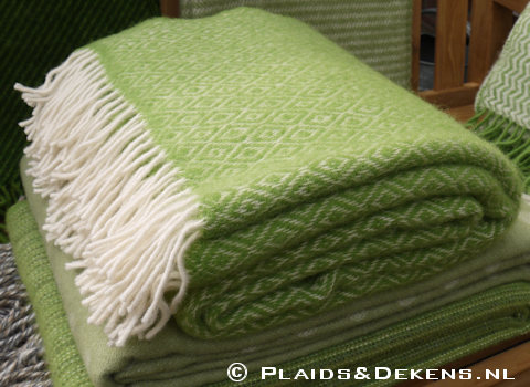 Plaid Stella lime groen