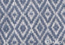 Plaid Stella smokey blue detail