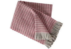 Klippan Plaid Stitch roze