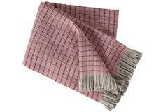 Klippan Plaid Stitch roze
