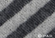 Plaid Straight Twill donkergrijs detail