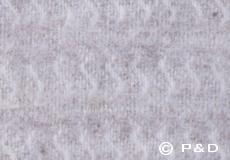 Plaid Sumba beige detail