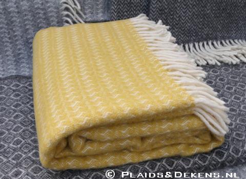 Plaid Sumba geel