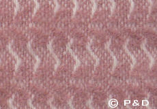 Plaid Sumba roze detail