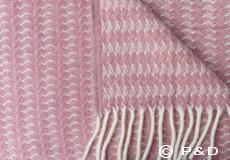 Klippan Plaid Sumba roze