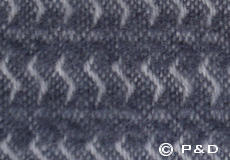 Plaid Sumba warm grey detail