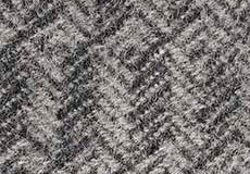 Plaid Tage grijs detail