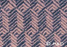 Plaid Tage lilac detail