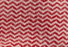 Plaid Tango rood detail