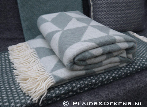 Plaid Twist a Twill ocean grey