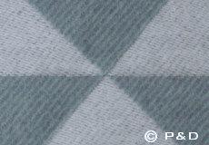 Plaid Twist a Twill ocean grey detail