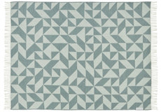 Silkeborg Plaid Twist a Twill ocean grey