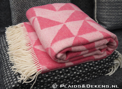 Plaid Twist a Twill roze