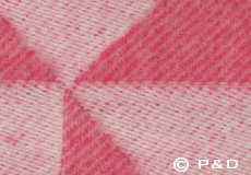 Plaid Twist a Twill roze detail