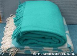 Plaid Vika blue turquoise