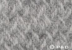 Plaid Zigzag lichtgrijs detail