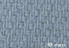 Sprei Raw misty blue detail