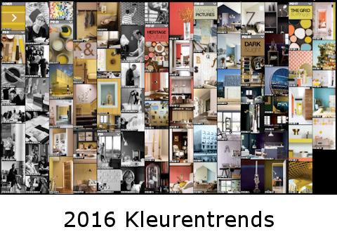 2016 Kleurentrends