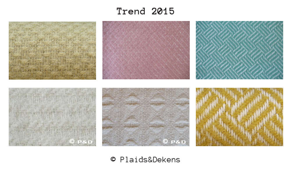 Trend 2015: Plaids in poedertinten