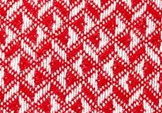 Kussenhoes Anna rood dessin