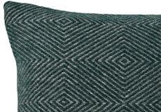 Kussenhoes Diamant green 40x60 dessin