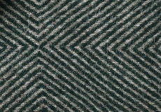 Kussenhoes Diamant green 40x60 detail