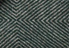 Kussenhoes Diamant green 40x60 detail